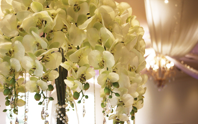 Real Touch Orchid Arrangements