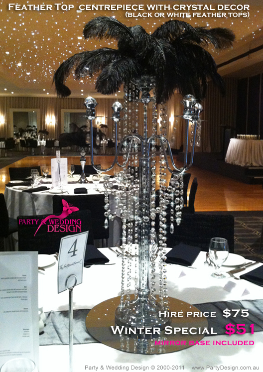 Crystal Candelabra Designer Centrepieces Table Centre