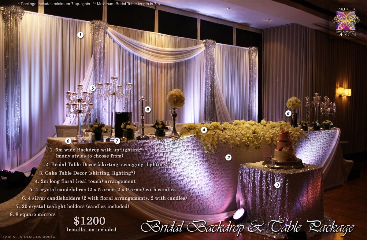 wedding decor specials melbourne. Black Bedroom Furniture Sets. Home Design Ideas